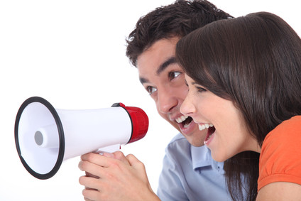 megaphone - call to action