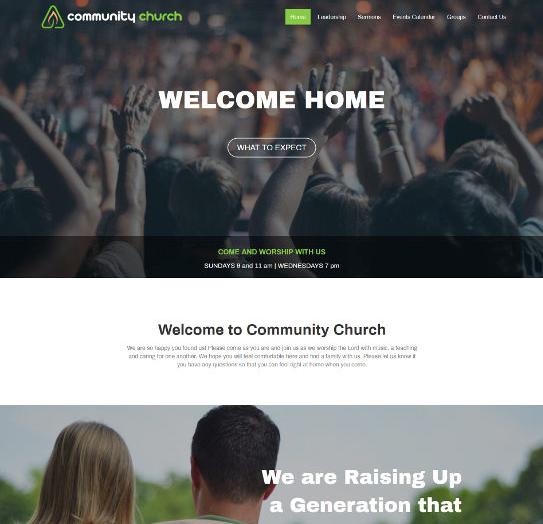 Church Web Designs • DL Church Websites