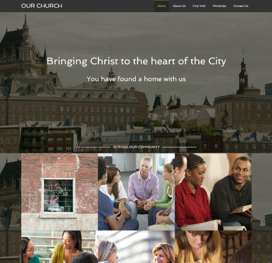 church website examples #3