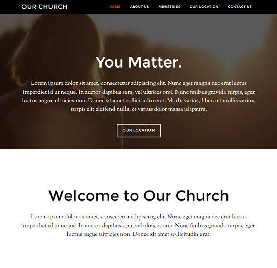 church website design18