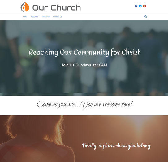 church website design 6